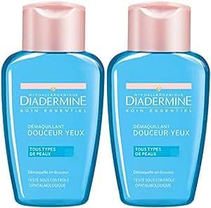 Diadermine - Démaquillant Yeux Douceur - 125 ml - Lot de 2