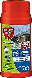 PROTECT HOME Rodicum Wühlmaus Portionsköder (ehem. Bayer Garten Racumin), 250 g