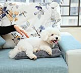 Pecute Hundebett Haustierbett für Katzen und Hunde Rechteck Ultra Weicher Plüsch luxuriöse Haustier-Schlafsack Maschine waschbar - 7