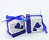 Usato, V-Dragon 100 Wedding Favour Candy Boxes Party Gift usato  Spedito ovunque in Italia