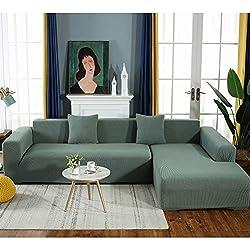 90-140cm Anti-Rutsch Sofa /Überw/ürfe Elastische Stretch 1//2//3//4 Sitzer Sofa Bezug Orange, 1-Sitzer Meetal Wasserdicht Sofabezug Sofa/überw/ürfe f/ür L-Form Sofa
