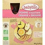 Babybio Gourdes Pomme Orange Banane 36 g -