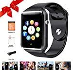 Bluetooth Smart Watches Touchscreen With SIM Card Slot Smartwatch Compatible With Android Phones And IOS Phone Smart Wrist Watch For Men Women Kids