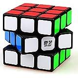D ETERNAL 3x3x3 high Speed stickerless Rubix Cube (Multicolour)