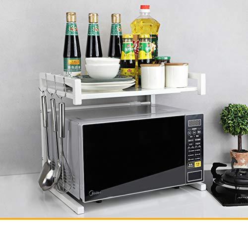 WMLD Versenkbare Mikrowelle Rack,küche Rack,ofen Storage Lagerung-Rack,Boden Multi-Layer