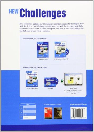 New challenges. Workbook. Con espansione online. Con CD Audio. Per le Scuole superiori: 4