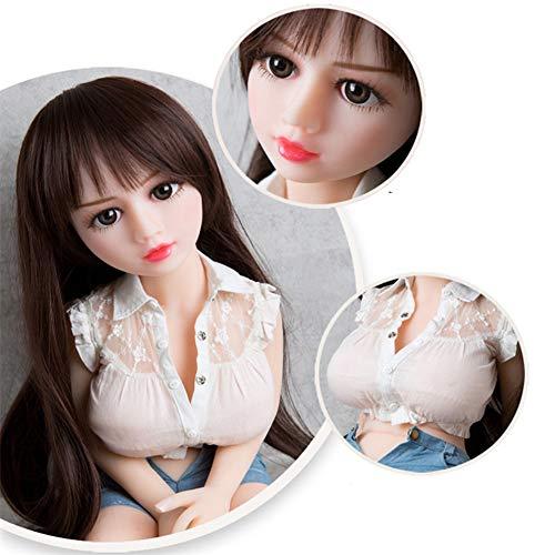 LYYAN 65cm Tamaño Completo Realista 3D Sex Muñeca Amor Postura Cambiable Entidad Silicona Torso...