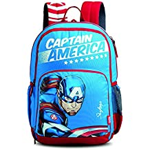 Skybags SB Marvel Champ Cap-AM 01 27 Ltrs Blue Casual Backpack  (SBMCCM1EBLU)