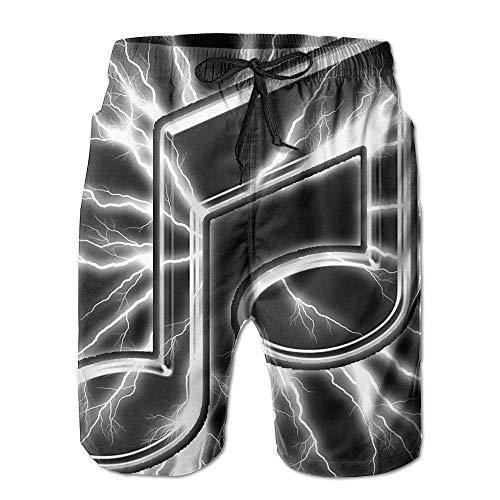 Danskin Tanz Hose (odin sky Herren Sommer Surf Badehose Strand Shorts Hose Quick Dry Pockets, XL)