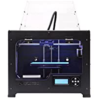 QIDI TECHNOLOGY Dual Extruder Desktop 3D Drucker QIDI TECH I,Fully Metal Frame Structure - Acrylic Cover,W/2 Free Filaments