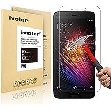 Xiaomi MI 5 Protector de Pantalla Cristal, iVoler® Film Protector de Pantalla de Vidrio Templado Tempered Glass Screen Protector para Xiaomi MI 5- Dureza de Grado 9H, Espesor 0,20 mm, 2.5D Round Edge-[Ultra-trasparente] [Anti-golpe] [Ajuste Perfecto] [No hay Burbujas]- Garantía Incondicional de 18 Meses