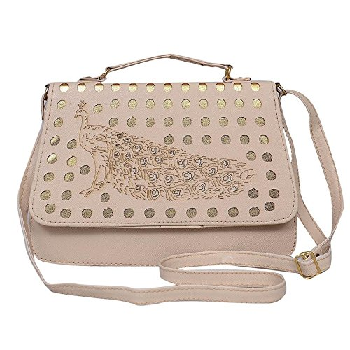 Sling Bag cum Hand Bag for Women and Girls Stylish Tredy Low Price baggit Organiser- Cream  available at amazon for Rs.485