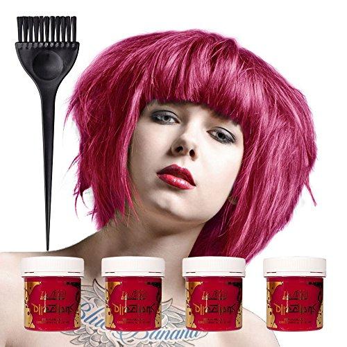 4-x-la-riche-directions-semi-perm-hair-colour-carnation-pink-all-colours-avail-4x-88ml-by-la-riche