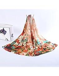 ZLL Tinta chales bufandas, bufanda de la cachemira fina , 2