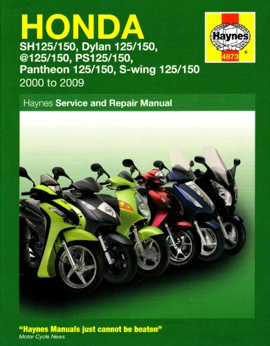 Honda 125 Scooters Service and Repair Manual (Haynes Motorcycle Manuals)