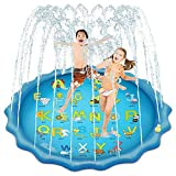 Msleep Water Games mat 170 cm Lawn Spray Water Cushion Beach Pad Sprinkler voor Outdoor Summer