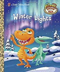 Winter Lights (Dinosaur Train) (Little Golden Book)