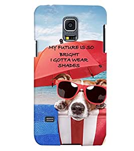 PrintVisa Quotes & Messages Attitude Life 3D Hard Polycarbonate Designer Back Case Cover for Samsung Galaxy S5 Mini