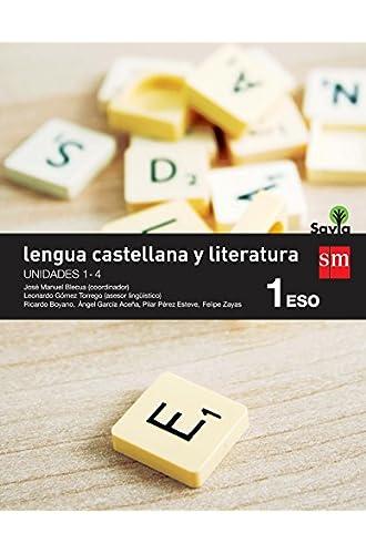 Lengua castellana y literatura. 1 ESO. Savia. Trimestres