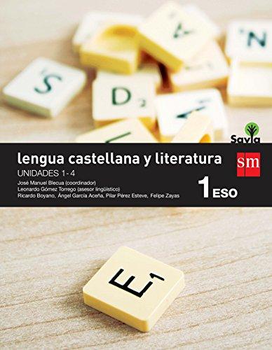 Lengua castellana y literatura. 1 ESO. Savia. Trimestres - Pack de 3 libros - 9788467577938 por Ricardo Boyano