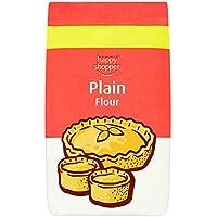 Happy Shopper 1 kg de harina normal (Pack de 8 x 1 kg)