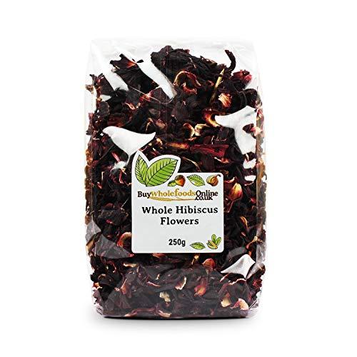 Hibiscus Flowers Whole Petals 250g (Buy Whole Foods Online Ltd.)