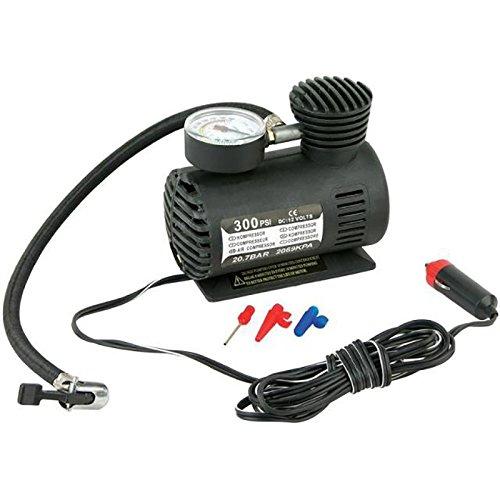 FUSKANG Portable Tire Inflator, 12V Luft Kompressor Reifenpumpe, Reifen Inflation, Mini-Pumpe Auto aufblasbare elektrische Pumpe (Portable Luft-pumpe Für Auto)