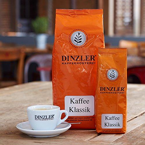 Dinzler Kaffeerösterei - Kaffee Klassik, 1kg, ganze Bohnen