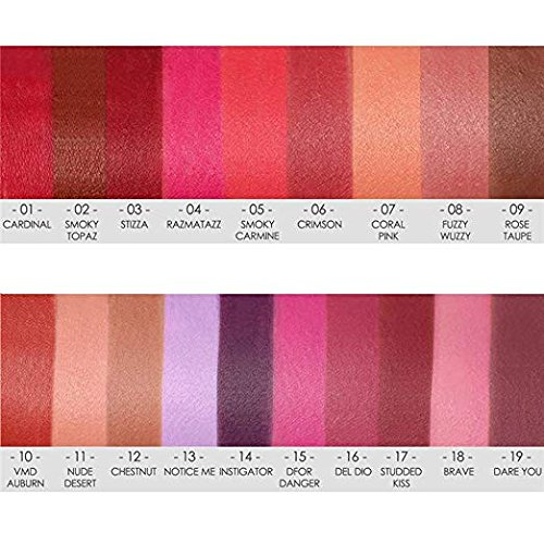 Focallure 6pcs matte Lipstick lip Gloss set Liquid lip color impermeabile matte Liquid Lipstick