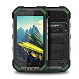 "Rugged Phone, Blackview BV6000S 4G Tri-Proof Smartphones Libres, IP68 impermeable, a prueba de golpes y polvo, Android 7.0 Teléfono Móvil con Quad Core 1.5GHz, 4.7"" HD Pantalla, 2GB RAM + 16GB ROM, 4500mAh Batería, Wifi, Bluetooth, NFC, GPS + GLONAS"