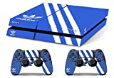 Skin PS4 HD ADIDAS ORIGINAL - limited edition DECAL COVER Schutzhüllen Faceplates playstation 4 SONY BUNDLE