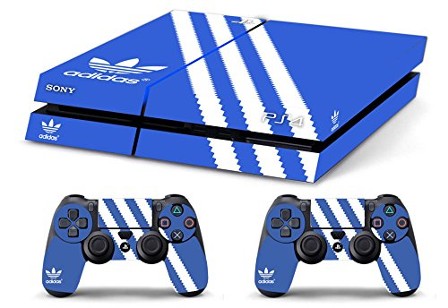Price comparison product image Skin PS4 HD ADIDAS - limited edition DECAL COVER ADESIVA playstation 4 SONY BUNDLE [