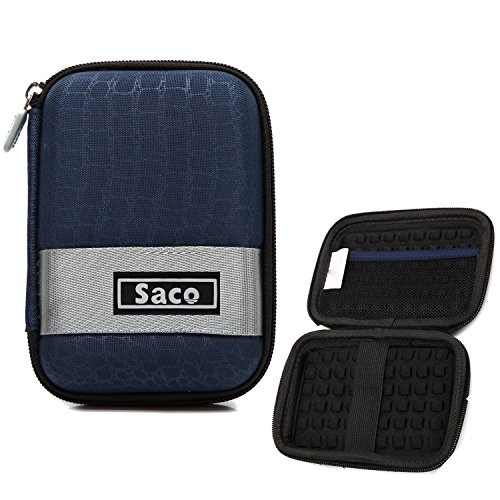 WD My Passport 1TB Portable External Hard Drive (Blue) External Hard Disk Hard Case Pouch Cover Bag - Saco  available at amazon for Rs.175