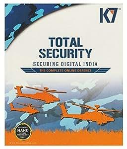 K7 Total Security - 3 PCs, 1 Year (CD)