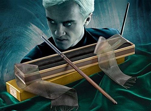 La Varita de Draco Malfoy| Orginal de Noble Collection