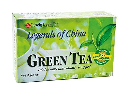 Grüner Tee - Green Tea - 100 Beutel - Uncle Lee's Tea Net 160g -