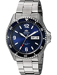 Orient Men's Analogue Japanese-Automatic Watch with Stainless-Steel Strap FAA02002D9