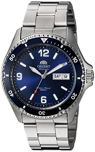 Orient-Mens-Mako-II-Japanese-Automatic-Stainless-Steel-Diving-Watch-ColorSilver-Toned-Model-FAA02002D9
