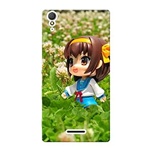 Inkif Printed Designer Case For Sony Xperia T3 Multi-Coloured