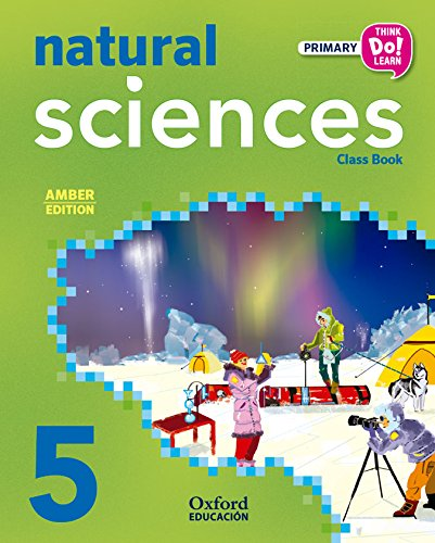 Think Do Learn Natural Science 5th Primary Student's Book Pack Amber por VV.AA.