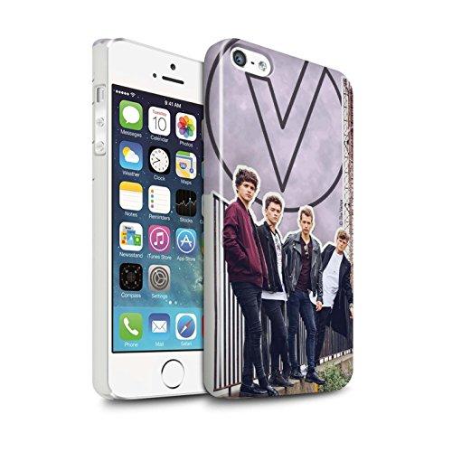 Officiel The Vamps Coque / Clipser Brillant Etui pour Apple iPhone 5/5S / Coupé Design / The Vamps Livre Doodle Collection Coupé