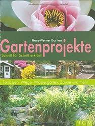 Gartenprojekte Schritt für Schritt erklärt: Terrassen, Wege, Wassergärten, Zäune und mehr