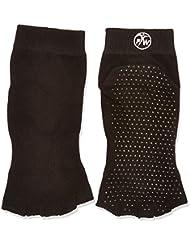 Chaussettes de Yoga/Pilates/Exercice Sport Mitaines - Antidérapantes Sans Orteils - Grip Socks en Coton - PhysioWorld