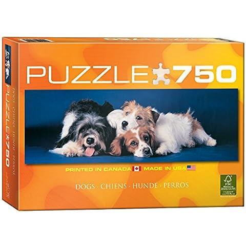 Eurographics Puppies Puzzle (750 Pieces)