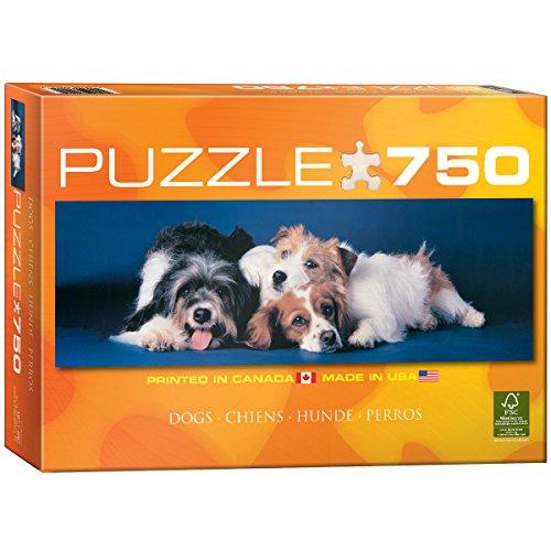 Eurographics 54491 - Cani (Panorama) - Puzzle 750 Pezzi