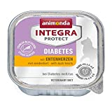 Animonda Integra Protect Diabetes mit Entenherzen | 16x 100g