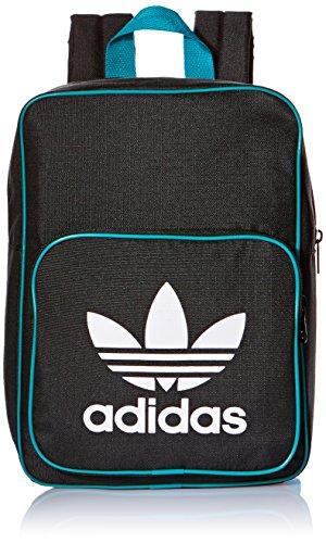 adidas Mini Rucksack Backpack schwarz/türkis