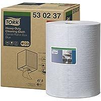 Tork Paño de limpieza Premium / 1 capa / Papel multiuso compatible con el sistema W1 / color azul