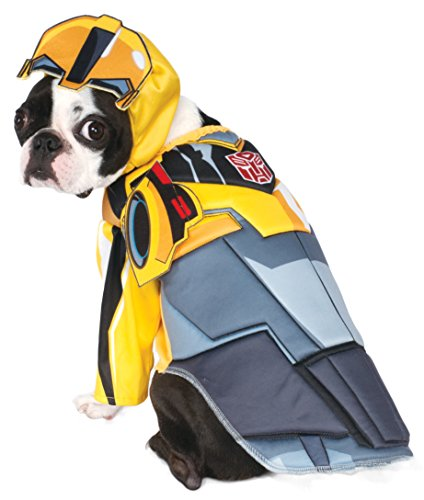 Rubies Costume Transformers Bumble Bee Deluxe Pet Kostüm, groß