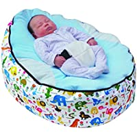 Bolsa de semillas para bebé con arnés de seguridad ajustable y 2 fundas.